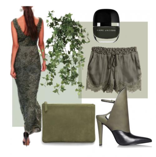 Feeling Green - Featuring Sougat Paul Dress   Polyvore set