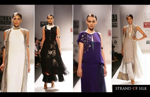 Kiran Uttam Ghosh S Collection At Wifw Ss 13 Indian Fashion Blog