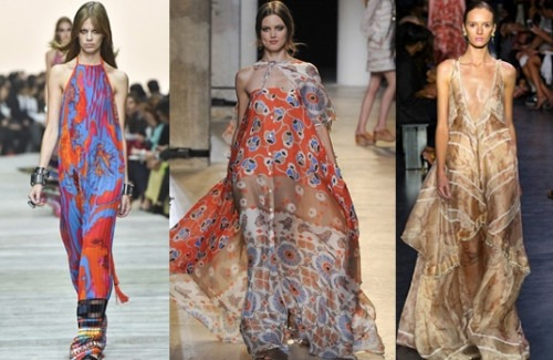 Hippy Couture - This Summer's Biggest Trend | Top Hippy Couture Looks From Recent Runways