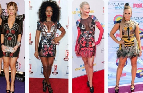 Hollywood Celebrities going GaGa over Indian Designer Duo's! - Stylish Thoughts