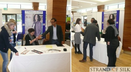 Strand of Silk - Strand of Silk at Imperial College Recruitment Fair