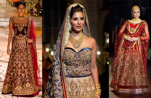 Favourite Indian Bridal Designers from India Bridal Fashion Week 2014 |