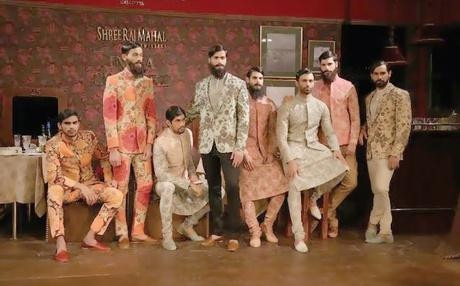 India Couture Week started off by Sabyasachi's Ferozabad Express collection