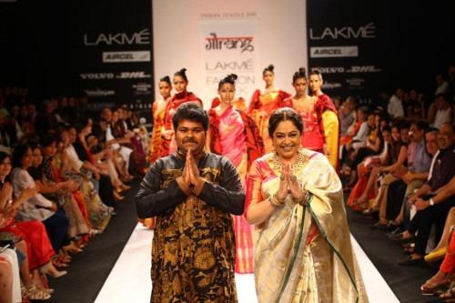 Indian Fashion Designer Gaurang Shah at Lakme Fashion Week