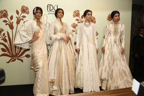 Indian Designer Rohit Bal's collections at India Couture Week 2014