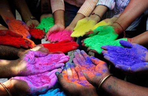 Indian Designer Clothes: Colour Coded