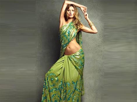 Indian designers are going international: Hollywood celebrities love them/ giselle bundchen