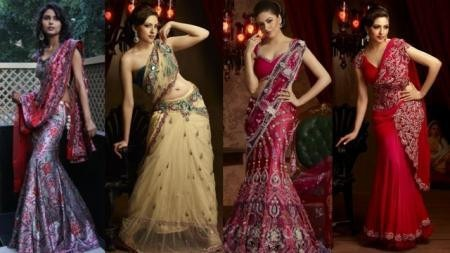 Indian Fashion - Indian Designers - Lalit Dalmia - Sarees with Zippers