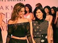 Indian Fashio Designer Rina Dhaka for Barista Lavazza