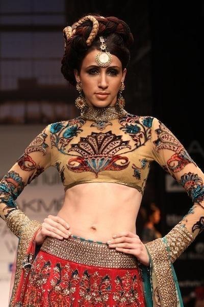 Indian Fashion Designer Neeta Lulla at Lakme Fashion Week