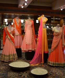 Indian Fashion Designer Nikasha Tawadey launches her Indian Bridal Collection called Rani