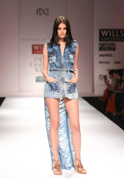 Indian Fashion Designer Raakesh Agarvwal Launches Denim wear Line
