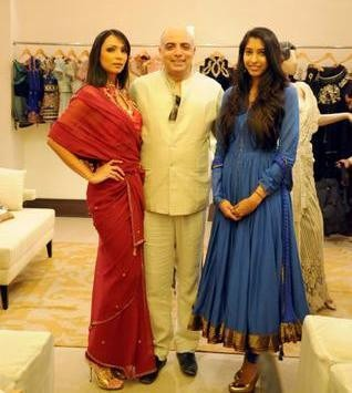 Indian Fashion Designer Tarun Tahilini in Hyderabad