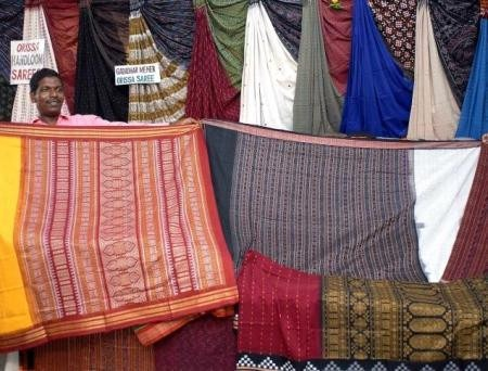 Indian Fashion Designers - Rajesh Pratap Singh - Orissa Handloom Sarees
