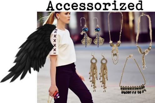 Indian Accessory Designer Sannam Chopra presents a collection of statement necklace and earring