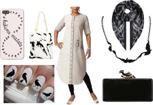 Designer tunic by Indian fashion label 'Myoho'