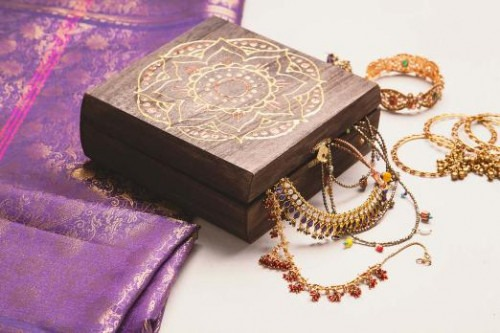 Evolution and the Journey of Indian Jewellery - a Traditional Indian jewellery Box