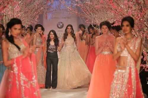 Jyotsna Tiwari at the BMW India Bridal Fashion Week 2014