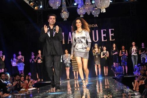 Film-maker Karan Johar debuts his Fashion Line for Women