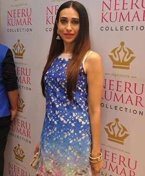 Karisma Kapoor in Neeru Kumar's Indian designer dress