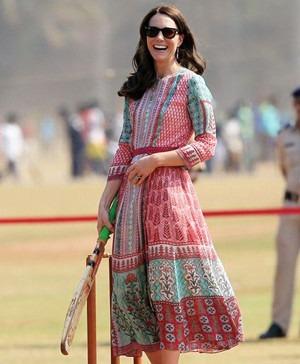 Kate Middleton Wears Anita Dongre