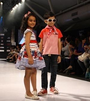 Models at Kids Fashion Week   The Case of Kids' Fashion