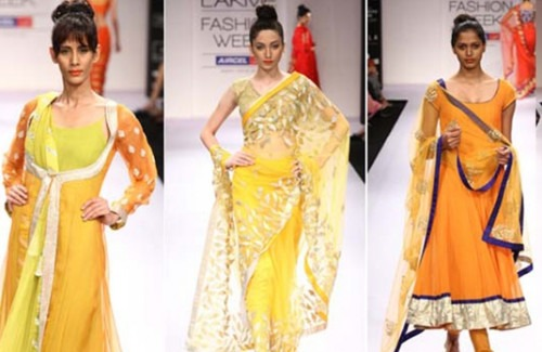 Amrita Thakur at Lakme Fashion Week Winter Festive 2012 - Stylish Thoughts