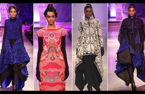 Pankaj & Nidhi at Lakme Fashion Week Winter Festive 2012 - Stylish Thoughts