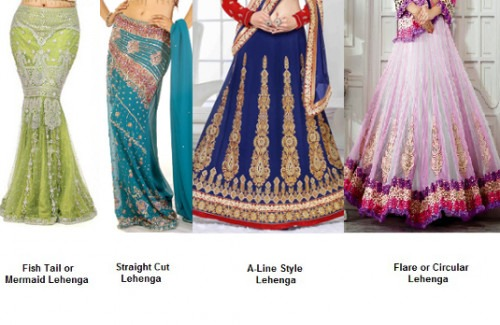 Different Styles of Lehenga | How to Choose Perfect Stylish Lehengas For Your Body Type