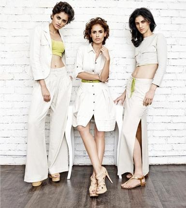 Linen collection by Indian fashion designer Anita Dongre