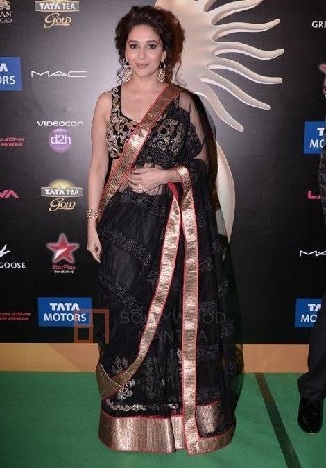 The designer Saree will be the common dress of the IIFA 2014