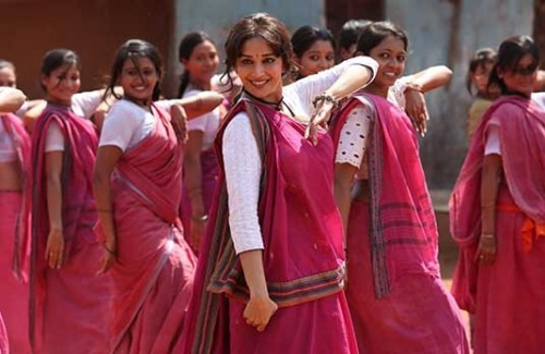 Gulaab Gang in Pink Sarees Inspiration for International Women's Day