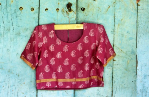 Handloom Cotton Blouse | Indian Outfits To Get You Through The Summer