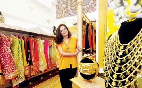 Malini Agarwalla's New Flagship Store   Malini Agarwalla at her new Flagship Store in Mumbai