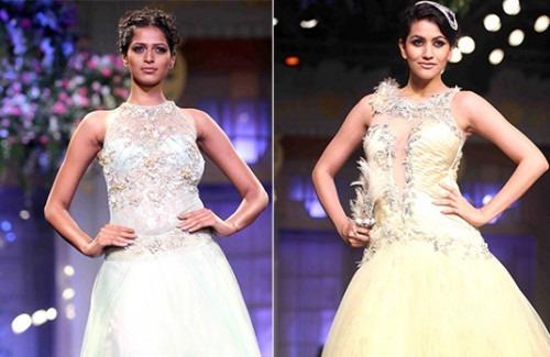 Mandira Wirk - Aamby Valley India Bridal Fashion Week 2012 - Stylish Thoughts