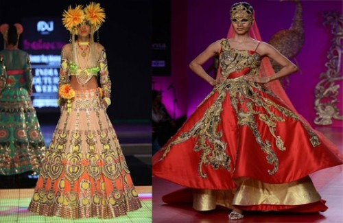 Edgy Collections by Indian Bridal Designers  