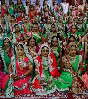 Mass Gathering of Brides   Surat Bears Witness to Mass Indian Wedding