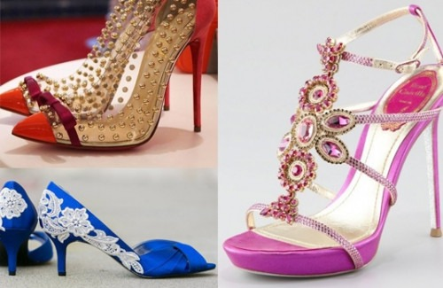 The Shoes What To Wear An Indian Wedding Strand Of Silk