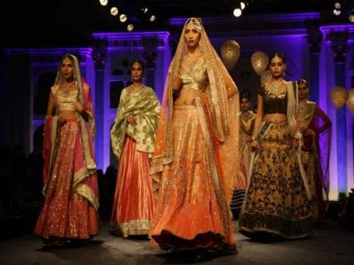 Meera Muzzafar Ali at the BMW India Bridal Fashion Week 2014