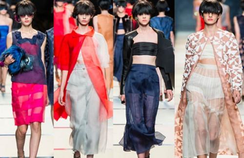 Milan Fashion Week 2014 Favourites - Layered Look Clothing