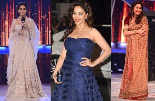 Our Favourite Looks of 2014 from Madhuri Dixit | Top Pick Looks from Madhuri Dixit
