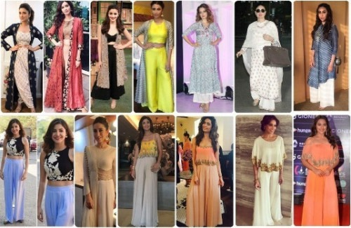 5 Ways To Style Palazzo Trousers Indian Fashion Blog