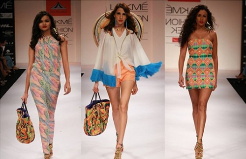 Pia Pauro at Lakme Fashion Week Winter Festive 2012 - Stylish Thoughts