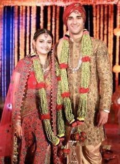Pulkit Samrat And Shweta Rohira's Wedding finally celebrated! | Ashley Rebello Bridal Clothes