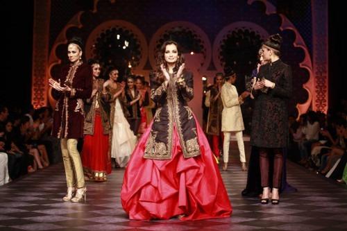 Indian Fashion Designer Bandhgalas Raghavendra Rathore IBFW 2013