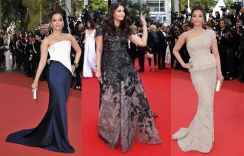 Aishwarya Rai Bachchan on the Red Carpet | Aishwarya Rai Bachchan at Cannes Film Festival: Over the years