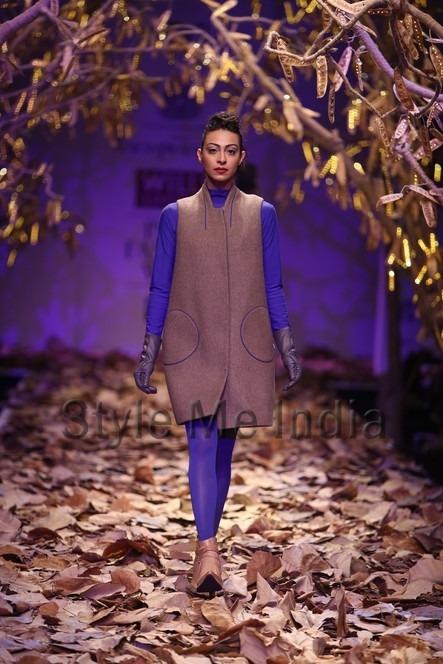 Indian fashion designer Rajesh Pratap Singh at WIFW fashion show