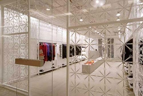 Designerwear at Rajesh Pratap Singh's Store at the Emporio Mall in Delhi