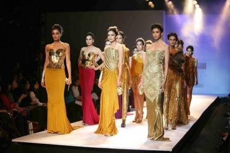 Indian Designer Raakesh Agarwal Lady Gaga Inspired