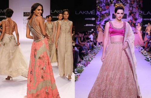 Indian Inspired Wedding Dresses For A Summer Wedding